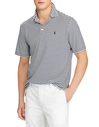 Polo Ralph Lauren Classic Fit Soft-Touch Cotton Polo-WHITE-X-Large