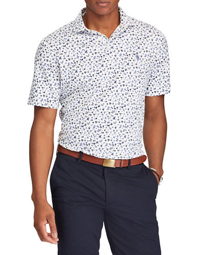 Polo Ralph Lauren Classic Fit Soft-Touch Polo-WHITE-X-Large