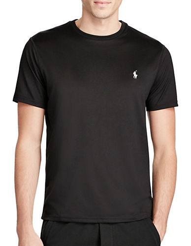 Polo Ralph Lauren Big and Tall Classic-Fit Active T-Shirt-BLACK-Large Tall 89892631_BLACK_Large Tall