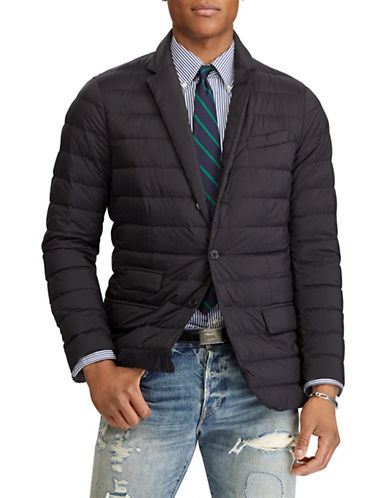 Polo Ralph Lauren Packable Down Jacket-BLACK-Large