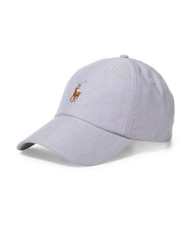 Polo Ralph Lauren Oxford Sports Cap-PURPLE-One Size