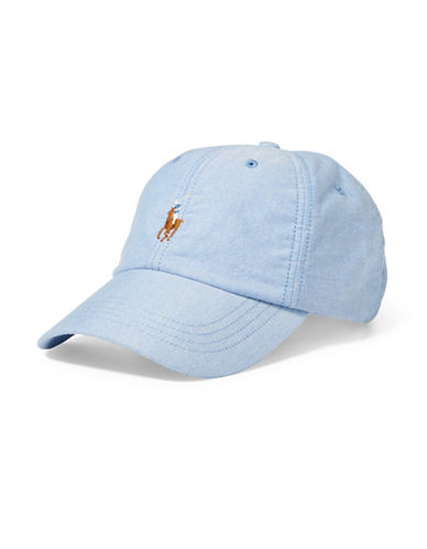 Polo Ralph Lauren Oxford Sports Cap-BLUE-One Size