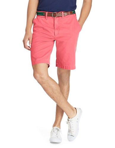 Polo Ralph Lauren Relaxed-Fit Cotton Chino Shorts-MEDIUM RED-40
