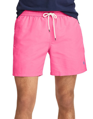 Polo Ralph Lauren Traveller Swim Trunk-PINK-Medium