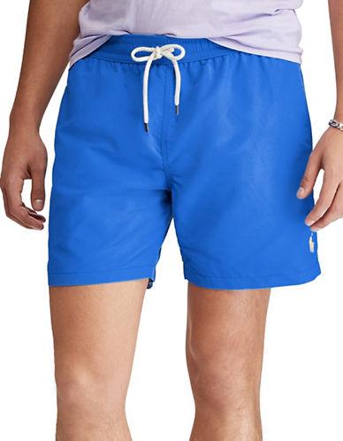 Polo Ralph Lauren Traveller Swim Trunk-BLUE-X-Large