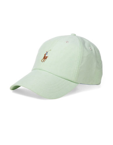 Polo Ralph Lauren Oxford Sports Cap-GREEN-One Size