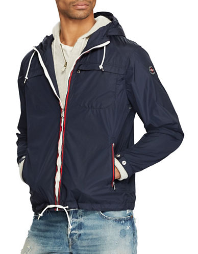 Polo Ralph Lauren Packable Hooded Jacket-NAVY-X-Large