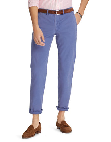 Polo Ralph Lauren Stretch Straight-Fit Chino Pants-BLUE-40X30