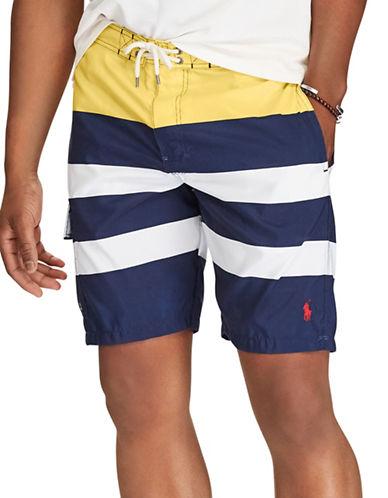 Polo Ralph Lauren Kailua Swim Trunk-NAVY-Medium