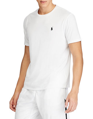 Polo Ralph Lauren Big and Tall Perforated Jersey T-Shirt-WHITE-Large Tall 89892635_WHITE_Large Tall