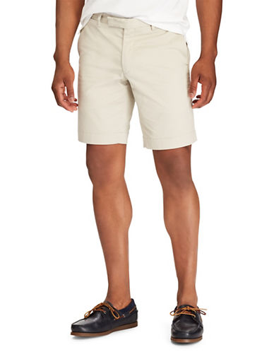 Polo Ralph Lauren Stretch Slim-Fit Chino Shorts-KHAKI-32