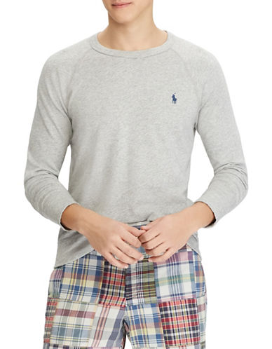 Polo Ralph Lauren Spa Terry Cotton Sweatshirt-GREY-Large 89880764_GREY_Large