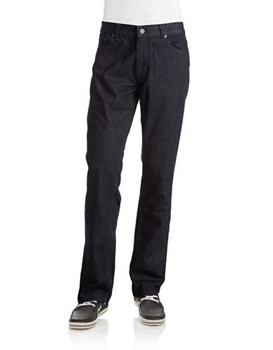 Calvin Klein Jeans Slim Straight-Leg Jeans-RINSE-38X32