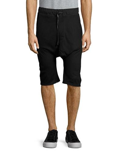 Hip And Bone Mesh Shorts-BLACK-Small