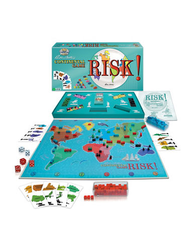 Kroeger Risk 1959 Board Game-MULTI-One Size