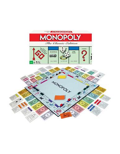 Kroeger Monopoly Board Game-MULTI-One Size