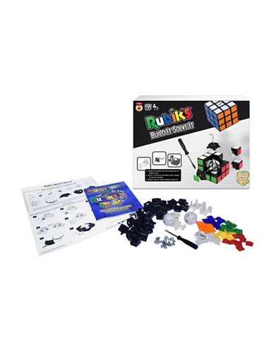 Kroeger Winning Moves - Rubiks Build It Solve It Building Kit-MULTI-One Size