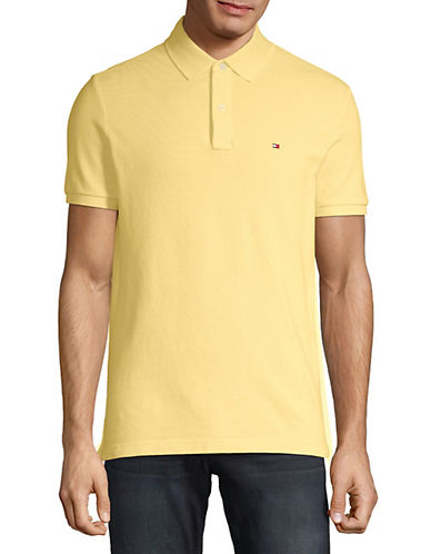 Tommy Hilfiger Ivy Custom Fit Polo-PROVENCE YELLOW-Medium
