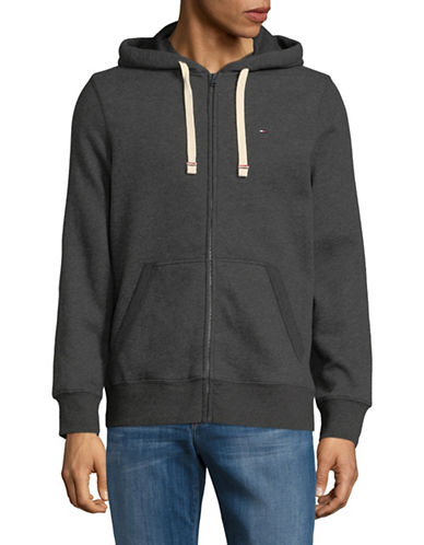 Tommy Hilfiger Plains Hoodie-GREY-Large 89896383_GREY_Large