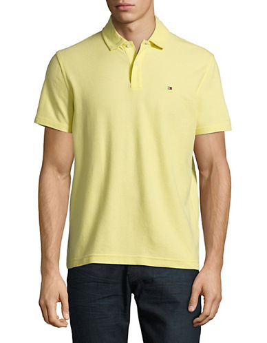 9d515347c This Tommy Hilfiger Winston Solid Polo is available in over ten colours