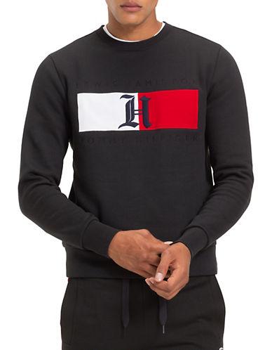 Tommy Hilfiger X Lewis Hamilton Colourblock Flag Fleece Sweatshirt 90381793