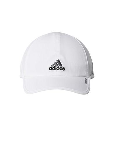 Adidas Adizero II Cap-WHITE/BLACK-Large/X-Large