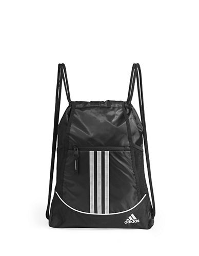 Adidas Alliance Piece Sack Bag-BLACK-One Size