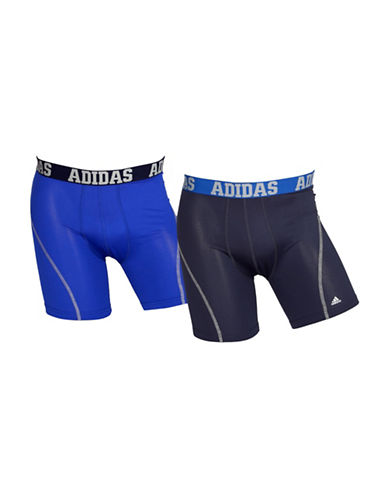 Adidas Two-Pack Climacool Boxer Briefs-BOLD BLUE-Medium
