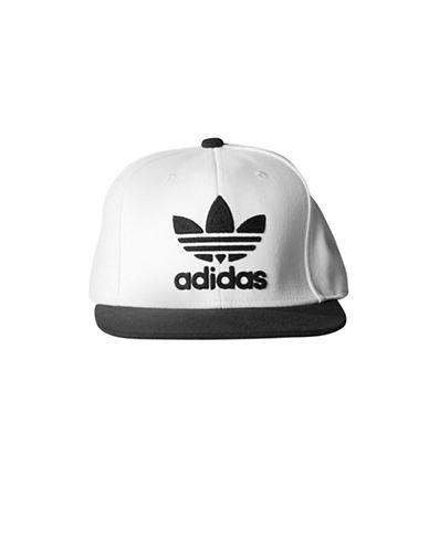 Adidas Originals Thrasher Flat Brim Cap-WHITE/BLACK-One Size