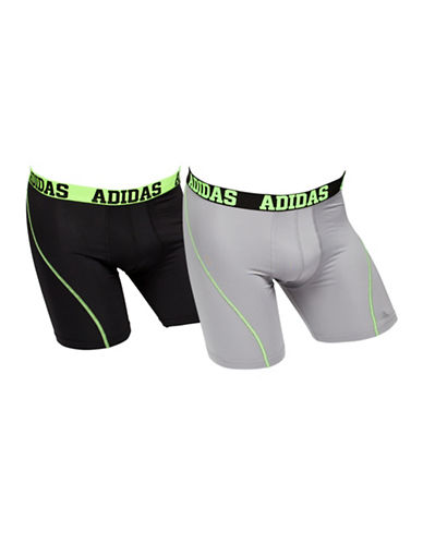 Adidas Two-Pack Climacool Boxer Briefs-BLACK-Small