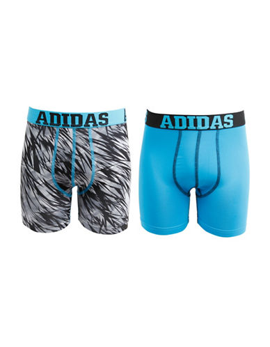 Adidas Two-Pack Sport Performance Climalite Boxer Briefs-BLUE-X-Large 88438706_BLUE_X-Large