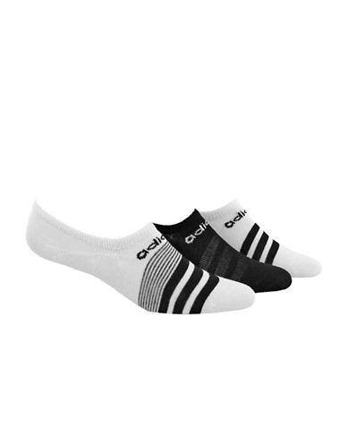 Adidas Superlite No-Show Socks-WHITE-One Size