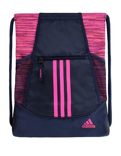 Adidas Alliance II Sackpack-NAVY/PINK-One Size
