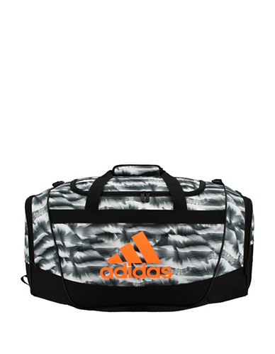 Adidas Defender II Small Patterned Duffle Bag-BLACK MULTI-One Size