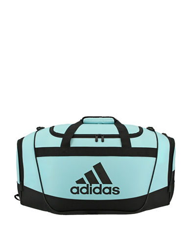 Adidas Defender II Small Logo Duffle Bag-AQUA-One Size
