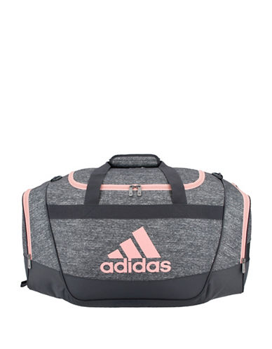 Adidas Defender II Small Duffle Bag-GREY-One Size