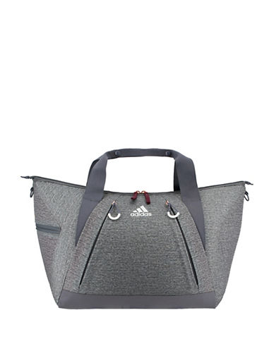 Adidas Studio II Heathered Duffle Bag-GREY-One Size