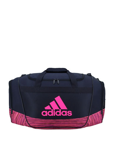 Adidas Defender II Small Colourblock Duffle Bag-NAVY-One Size