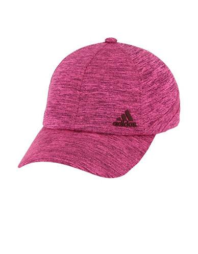Adidas Heathered Baseball Cap-PURPLE-One Size
