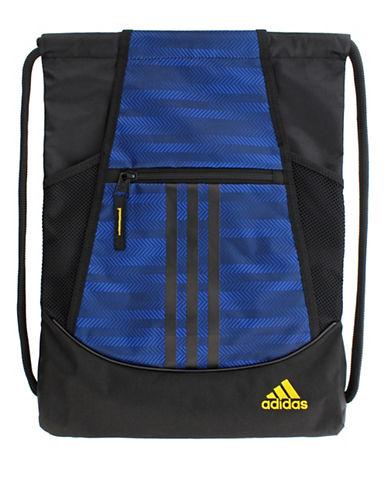 Adidas Alliance II Sackpack-BLUE-One Size