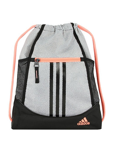 Adidas Alliance Sackpack-WHITE-One Size