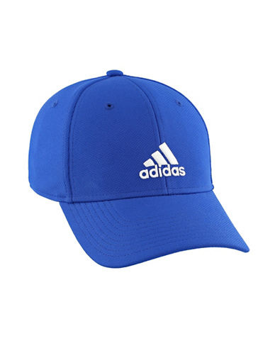 Adidas Rucker Stretch Fit Cap-BLUE-One Size