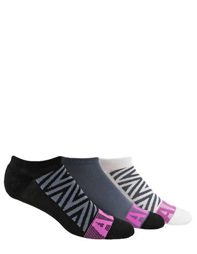 Adidas Three-Pack Climalite Ankle Socks-BLACK-One Size