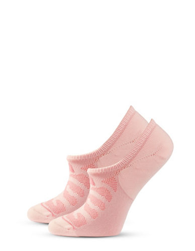 Adidas Two-Pack Super No-Show Socks-PINK-One Size