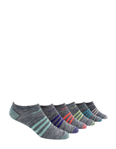 Adidas Six-Pack Superlite Mini Stripe Socks-ASSORTED-One Size