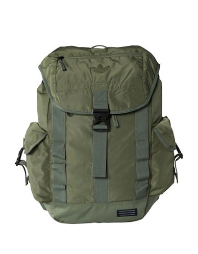 Adidas Utility 3D Foam Backpack-GREEN-One Size