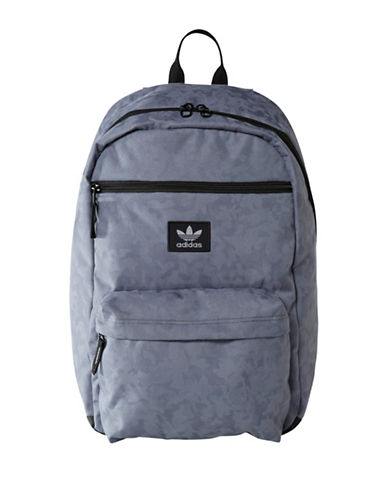 Adidas Originals National Plus Padded Backpack-BLACK-One Size