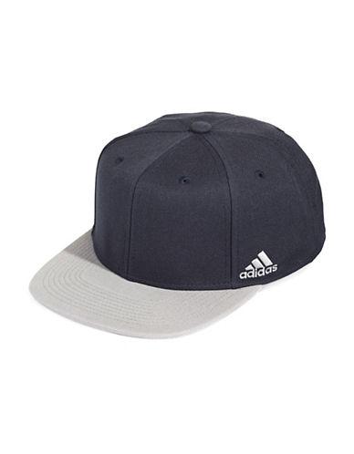 Adidas Team Riot Snapback Cap-NAVY-One Size