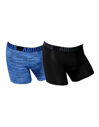Adidas Two-Pack Climacool Trunks-BLUE-Large