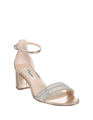 Nina Elenora Metallic Sandals-TAUPE-8